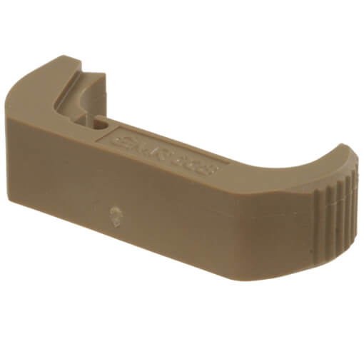Vickers Tactical Extended 45 ACP Glock Mag Release - Tan