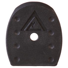 Vickers Tactical Springfield Magazine Floor Plate 5 Pack - Black 9mm/40