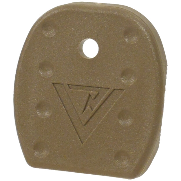Vickers Tactical Glock Magazine Floor Plate Large Frame 5 Pack - Tan