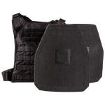Hesco L210 Series Plates 10x12 Special Threat Shooter Cut w/ GRG Minimalist Plate Carrier
