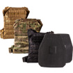 Hesco L210 Series Plates 10x12 Special Threat Shooter Cut w/ GRG Minimalist Plate Carrier