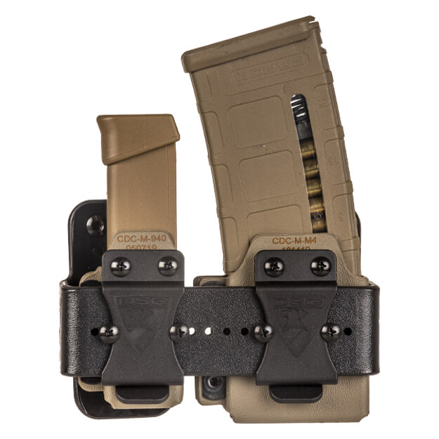 Micro Ranger Rack w/ Magazine Carriers - E2 Tan
