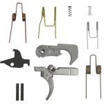 DSG Milspec Grade Trigger w/ Nickel Teflon Coating and JP Enhanced Spring Kit and Red Hammer Spring