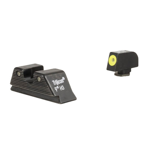 Trijicon HD Night Sight Set MOS Fit Yellow Front