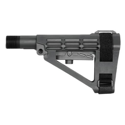 SB Tactical SBA4 Adjustable Brace - Gray
