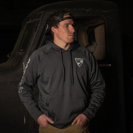 DSG 25 Years Hooded Sweatshirt - Mens Grey