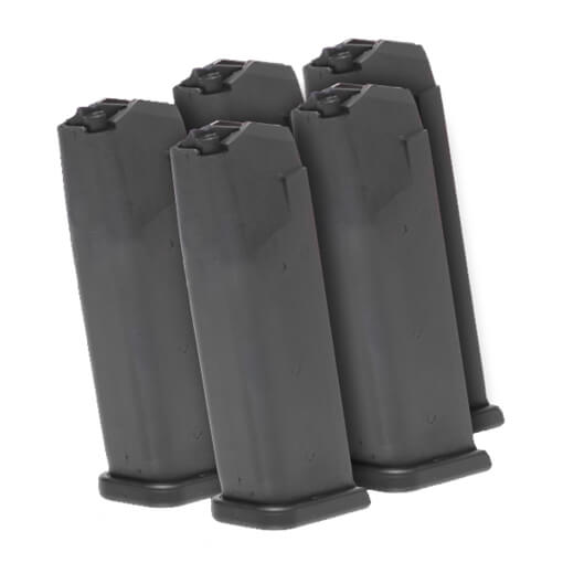 GLOCK G19 Gen4 9MM Magazine - 5 Pack