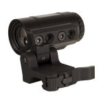 Trijicon 3X Magnifier w/ Adjustable Height QD Flip to Side Mount