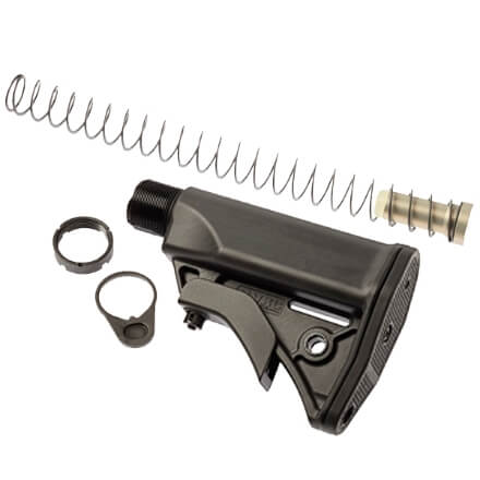 LWRC Ultra Compact Stock Kit - Black