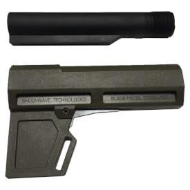 KAK Industry Shockwave 2.0 Blade Pistol Stabilizer Includes Tube - Olive Drab Green