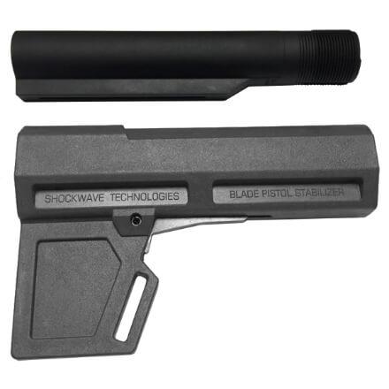KAK Industry Shockwave 2.0 Blade Pistol Stabilizer Includes Tube - Grey