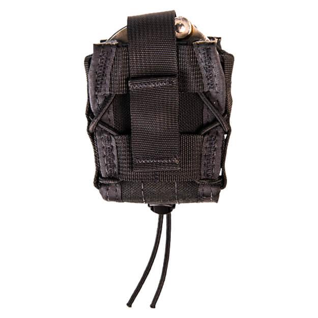 High Speed Gear Duty Handcuff Taco U-Mount Black
