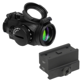 Aimpoint Micro T-2 2 MOA w/ MI QD Mount - Absolute Co-Witness