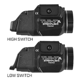 Streamlight TLR-7A 500 Lumen Weapon Light w/ High and Low Switch