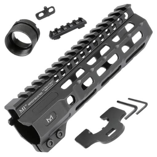 "Midwest Industries 7"" Combat Rail M-Lok Handguard - Black"