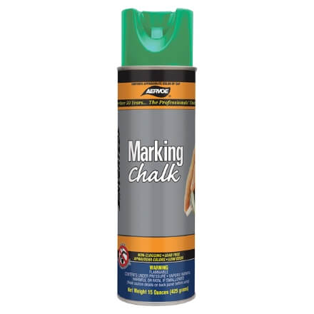 Aervoe Spray Marking Chalk - Green