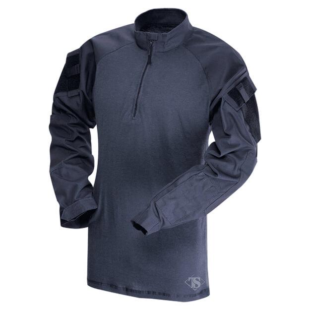Tru Spec Polycotton 1/4 Zip Combat Shirt Navy - 3X Large