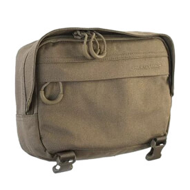 Eberlestock Large Padded Accessory Pouch - Dry Earth