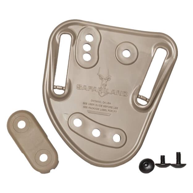 "Safariland 567BL Injection Molded Belt Loop Tan - 1.50"" - 1.75"""