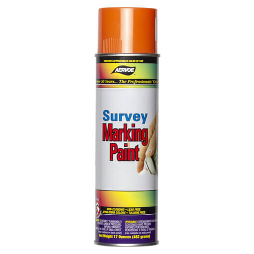 Aervoe Spray Survey Marking Paint - Orange