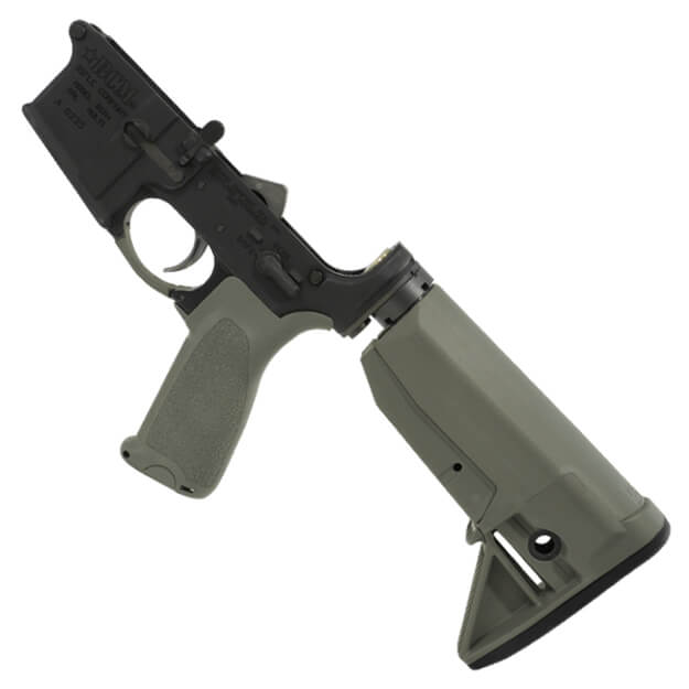 BCM Lower Receiver Group Mod 0 w/BCM Gunfighter Stock - Foliage Green