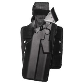 Safariland 7385 7TS ALS Holster - STX Plain Black Glock 17, 22 w/ Light - Right Hand