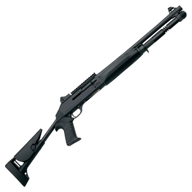 "Benelli 11701 M1014 18.5"" 12GA Shotgun w/ Skeleton Stock"