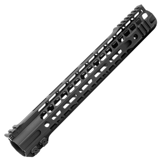 "SLR Rifleworks 13.7"" SOLO M-LOK Hybrid Handguard - Black"