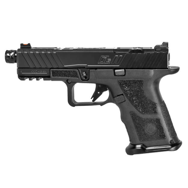 Zev OZ9 Pistol Compact Black Slide w/ Black Threaded Barrel