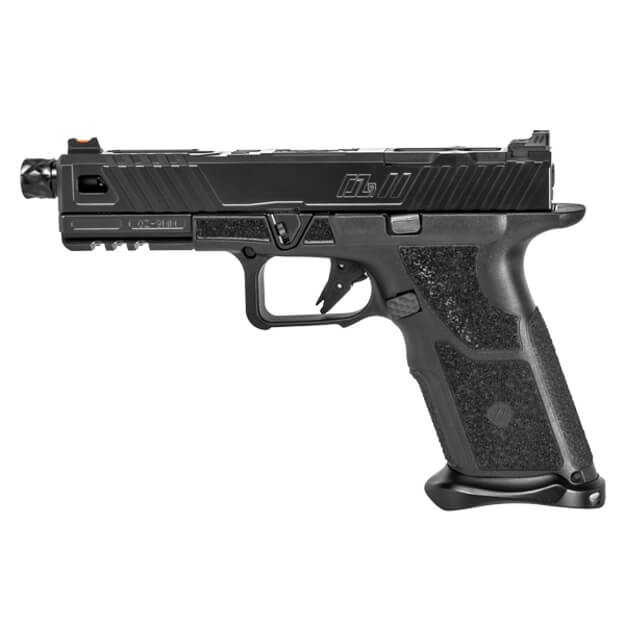 Zev OZ9 Pistol Standard Size w/ Threaded Barrel - Black