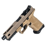 Zev OZ9 Pistol Standard FDE Slide w/ Black Threaded Barrel