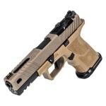 Zev OZ9 Pistol Covert FDE Slide w/ Black Barrel