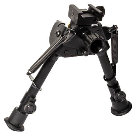 """Harris Swiveling Bipod 6""""-9"""" w/ Picatinny Attachment and Self Leveling"""