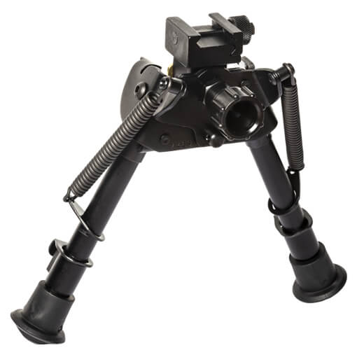 "Harris Swiveling Bipod 6""-9"" w/ Picatinny Attachment and Leg Notches"