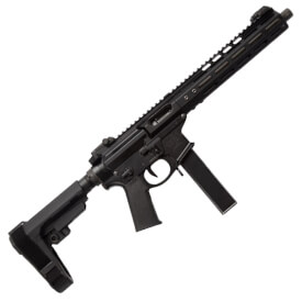 "Noveske Gen4 9MM 10.5"" Pistol w/ 9.75"" NSR M-LOK Rail and SBA3 Brace"