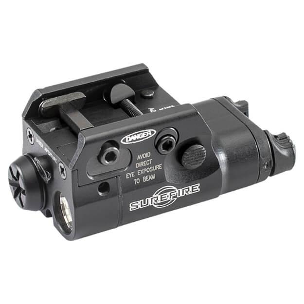 Surefire XC2-A Compact Pistol Light w/ Laser - Black