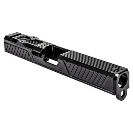 ZEV Glock 17 Gen3 Citadel Stripped Slide w/ RMR Plate - Black