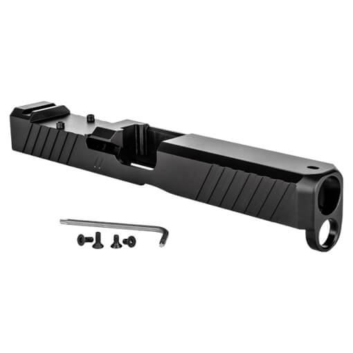 ZEV Glock 17 Gen5 Duty Stripped Slide w/ RMR Cut - Black