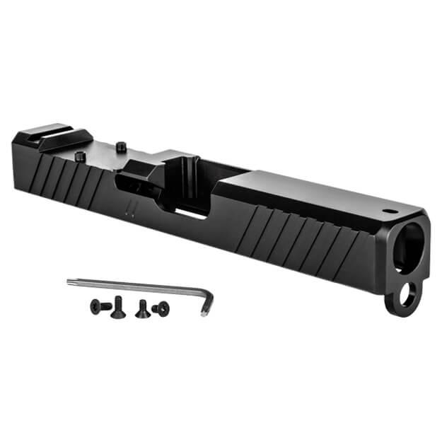 ZEV Glock 19 Gen3 Duty Stripped Slide w/ RMR Cut - Black