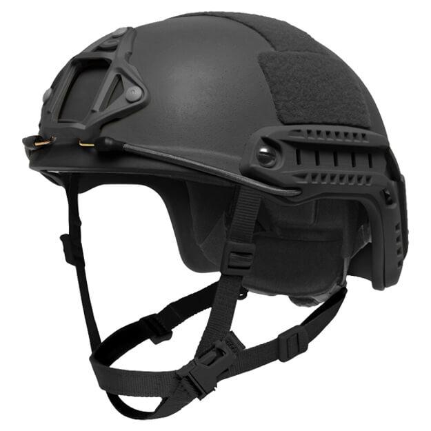 Ops-Core FAST LE High Cut Ballistic Large Helmet w/ EPP Padding & OCC Dial - Black
