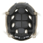 Ops-Core FAST Carbon High Cut w/ Worm Dial - Large Black