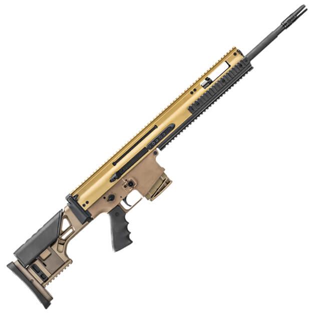 """FN SCAR 20S 7.62mm Rifle w/ 20"""" Barrel - Dark Earth"""