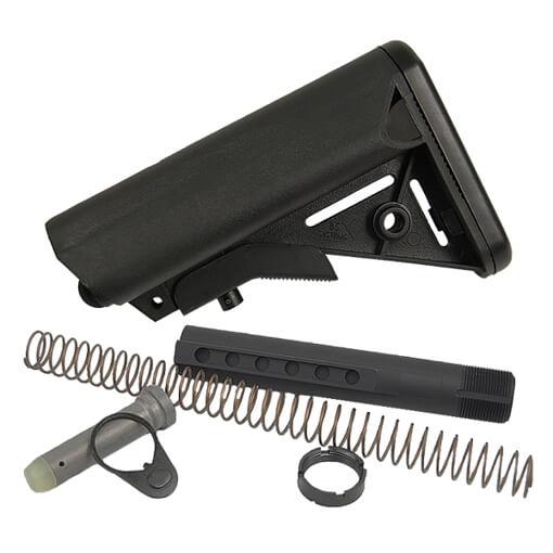 B5 Milspec 7075 Enhanced SOPMOD Buttstock Kit - Black