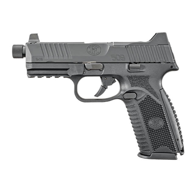 FN 509 Tactical Black w/ 17rd and two 24rd Magazines