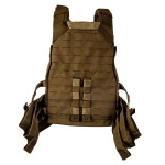 Grey Ghost Gear SMC Plate Carrier Laminate - Coyote Brown