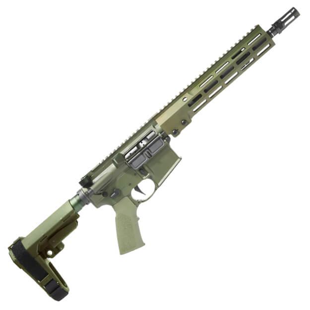 """Geissele Super Duty 11.5"""" 5.56mm Pistol - OD Green"""