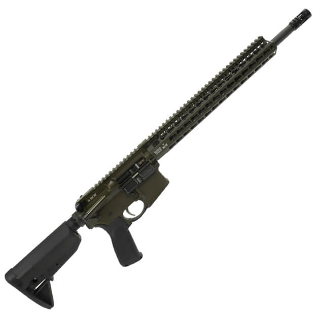 "BCM 16"" Recce Rifle w/ 13"" KMR-A Rail - Olive Drab Green"