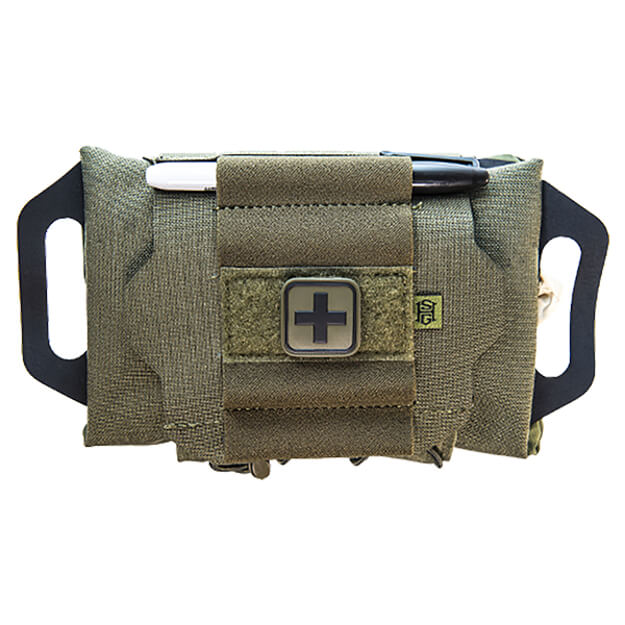 High Speed Gear Reflex IFAK Kit Roll and Carrier Olive Drab Green