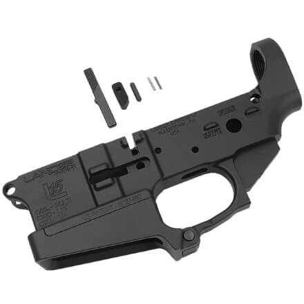 Lancer L15 Stripped Forged Lower w/ Standard Mag Well Extension