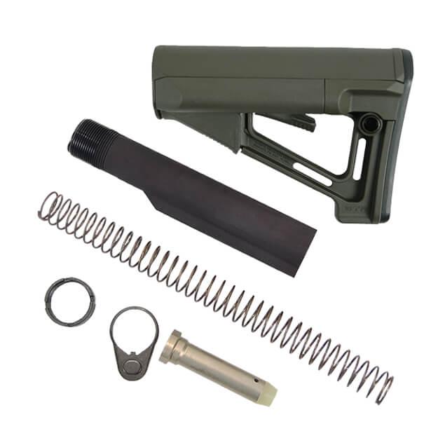 MAGPUL STR Stock Kit Milspec 7075 - Olive Drab Green